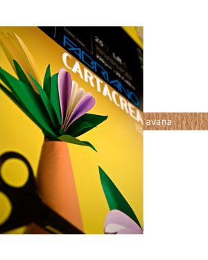 Blister 10fg cartoncino 35x50cm 220gr avana cartacrea fabriano 46435103