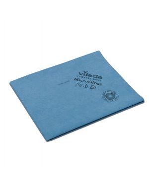Conf. 5 panni blu microglass 50x40cm in microfibra vileda 152760 4023103198685 152760 by Vileda