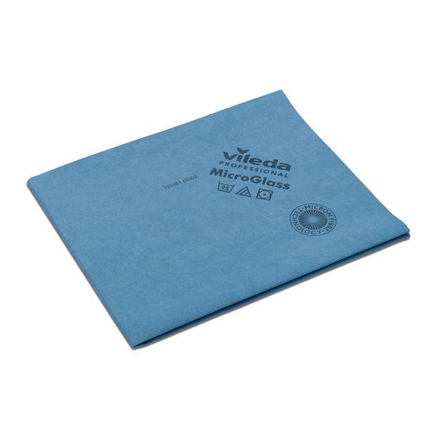 Panno Magico Blu.Conf 5 Panni Blu Microglass 50x40cm In Microfibra Vileda 152760 4023103198685