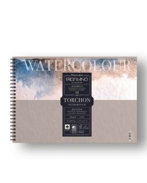 Blocco spiralato 21x29.7cm 12fg 300gr watercolour torchon fabriano 19100280 8001348197218 19100280 by Fabriano