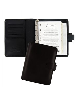 Organiser metropol pocket f.to 146x115x35mm nero similpelle filofax L026960 757286158887 L026960 by No