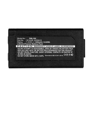 Pacco batterie ric. dymo xtl 300 Dymo 1814308 71701003751 1814308