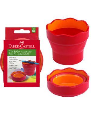 Scodellino per acqua col rosso FABER CASTELL 181517 4005401815174 181517
