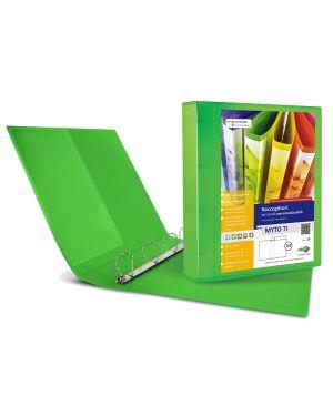 Raccoglitore myto ti 17 a4 4d 22x30cm verde personalizzabile sei rota 36911745 8004972025780 36911745