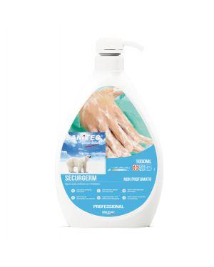 Sapone liquido 1lt con antibatterico securgerm sanitec 1030 8032680397530 1030