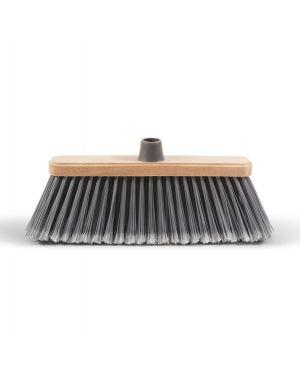 Scopa spazzesterni coccia legno 28cm 0020B 8000957002029 0020B