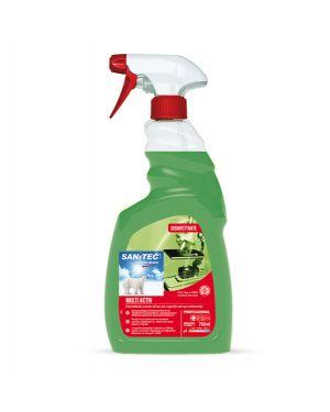 Sgrassatore disinfettante multi activ 750ml sanitec 1821-S 8032680391446 1821-S