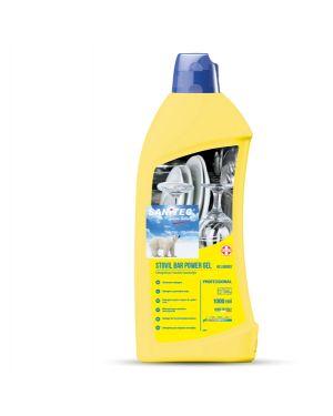 Detergente lavastoviglie stovil bar gel 2in1 1lt sanitec 1161-S 8032680397561 1161-S