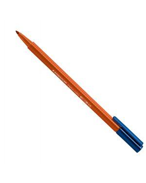 Triplus color pennarello punta 1,00mm terra di siena bruciata staedtler 323-73 4007817323137 323-73