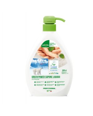Sapone liquido 600ml Green Power Sanitec 4004