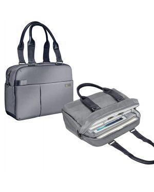 "Borsa shopper smart traveller per pc 13,3"" grigia leitz complete 60180084 4002432116805 60180084 by Leitz"