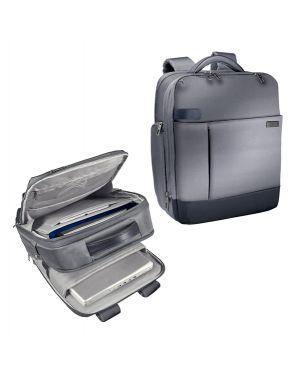 "Zaino smart traveller per pc 15,6"" grigio leitz complete 60170084 4002432115235 60170084 by Leitz"