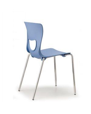 Seduta in ppl pluto blu PT4-BL 8050043748348 PT4-BL