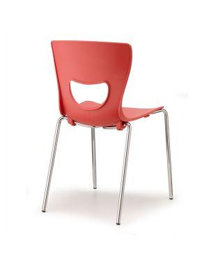Seduta in ppl pluto rosso PT4-RO 8050043748331 PT4-RO