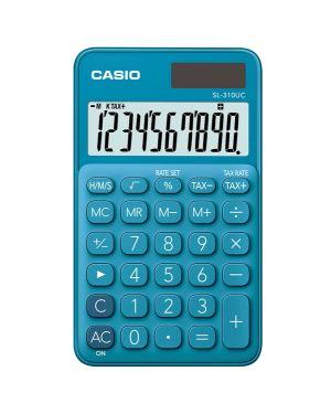 Calcolatrice tascabile sl-310uc blu casio SL-310UC-BU 4549526700095 SL-310UC-BU