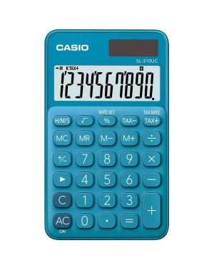 Calcolatrice tascabile sl-310uc blu casio SL-310UC-BU 4549526700095 SL-310UC-BU by Casio