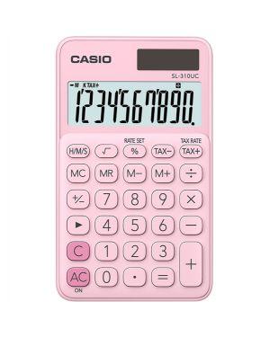 Calcolatrice tascabile sl-310uc rosa casio SL 310 UC-PK 4549526700118 SL 310 UC-PK by Casio