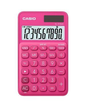 Calcolatrice tascabile sl-310uc rosso casio SL-310UC-RD 4549526700101 SL-310UC-RD by Casio