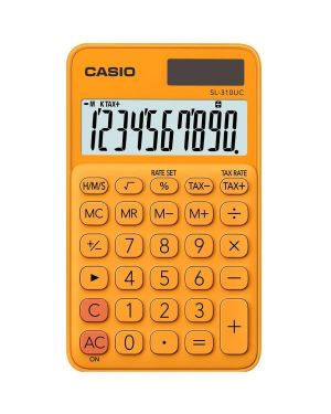 Calcolatrice tascabile sl-310uc arancio casio SL-310UC-RG 4549526700149 SL-310UC-RG by Casio