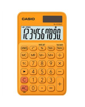 Calcolatrice tascabile sl 310uc arancio casio SL-310UC-RG
