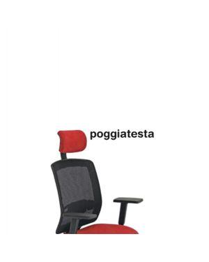 Poggiatesta rosso per seduta molly PGMLA/SR