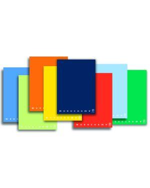 Maxiquaderno a4 40fg+2 80gr bianco monocromo pigna 0229887BI 8005235045262 0229887BI