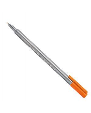 Triplus fineliner punta 0,3mm arancione staedtler 334-4 4007817334164 334-4