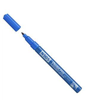 Marcatore n50 slim blu punta tonda 3,18mm pentel N50S-C