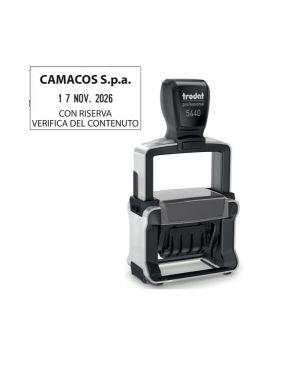 Timbro professional 4.0 5460 datario 56x33mm personaliz autoinch. trodat 120362 190084203623 120362 by Trodat