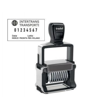 Timbro Professional 4.0 55510/PL NUMERATORE 10 colonne 5mm autoinch. TRODAT 120205