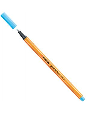Pennarello point 88 azzurro neon 88 - 031 stabilo 88/031 83141 A 88/031