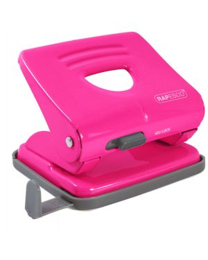 Perforatore 825 2 fori fucsia max 25 fg Rapesco 1360 by No