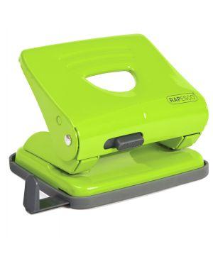Perforatore 825 2 fori verde max 25 fg rapesco 1361 by No