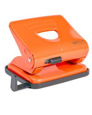 Perforatore 825 2 fori arancio max 25 fg rapesco 1362 by No