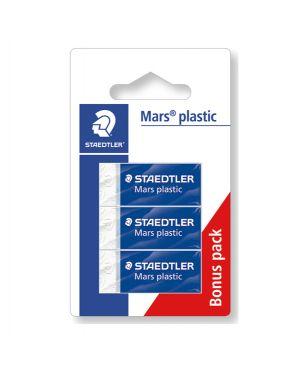 Blister 3 gomme marsplastic mini 526 53 bianca staedtler 52653 ABK3D 4007817525395 52653 ABK3D