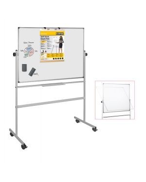 Lavagna magnetica girevole Professional 90x120cm Bi-Office QR0203