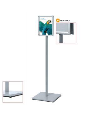 Display catching pole standard a4 bifacciale CAPOA4R25D 83295 A CAPOA4R25D by Studio T