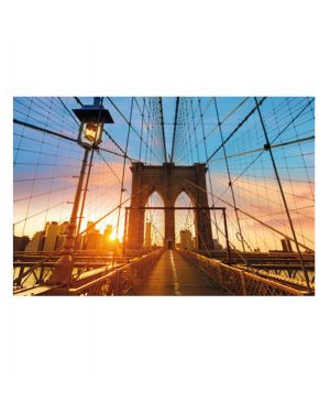 "Quadro in plexiglass 60x80cm ""ponte di brooklyn&#34 1CCF60x80.35.08 3660141892055 1CCF60x80.35.08 by Paperflow"