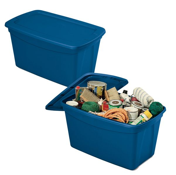 Contenitore multiuso totebox 82,4x50,5x44cm blu terry 1002784 8005646027840 1002784 by Terry
