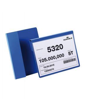 50 buste identificazione con aletta 210x148mm (a5-oriz) 1722 blu durable 1722-07 4005546981741 1722-07