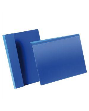 50 buste identificazione con aletta 210x297mm (a4-oriz) 1723 blu durable 1723-07 4005546981710 1723-07