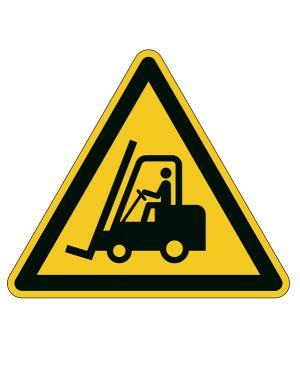 """Pittogramma adesivo da terra """"attenzione passaggio carrelli"""" l43cm 1734 durable 1734-04 4005546983493 1734-04"""