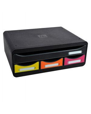 Cassettiera toolbox 4 cassetti nero - arlecchino exacompta 319798D 9002493424173 319798D by Exacompta