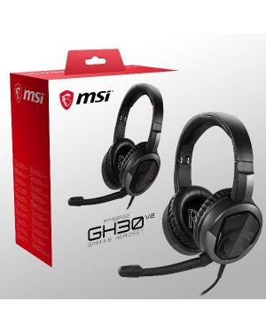 Immersegh30 v2 gaming headset MSI IMMERSE-GH30V2 4719072717100 IMMERSE-GH30V2