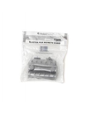 Blister 20 portamonete in PVC 1cent trasparente 8000/20