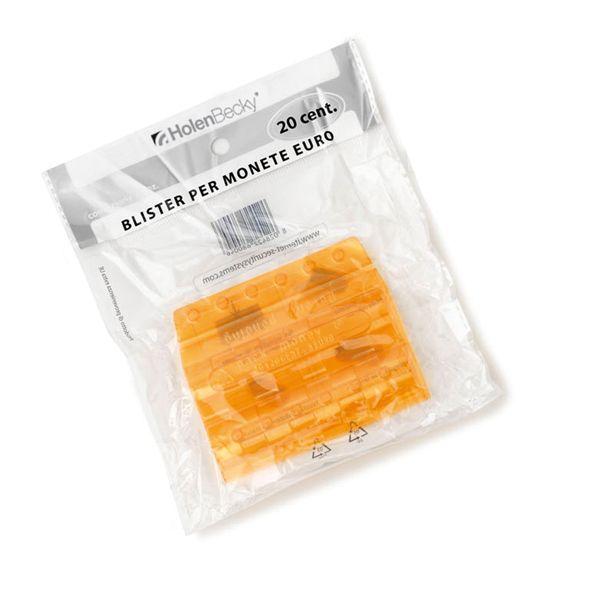 89fd402e61 Blister 20 portamonete in pvc 20cent arancio 8004/20 8028422680046 8004/20  by Holenbecky
