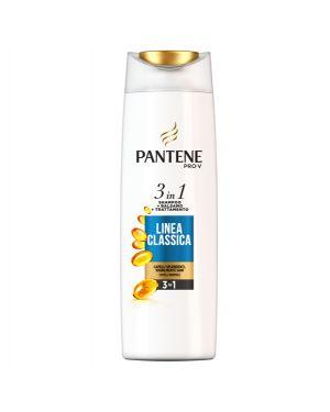 Pantene shampoo 3in1 linea classica 225ml PG096 8001090637123 PG096