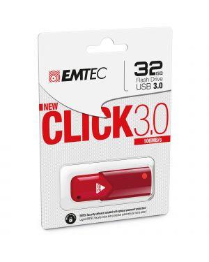 Memoria usb 3.0 b100 32gb red ECMMD32GB103R 3126170152046 ECMMD32GB103R by Emtec