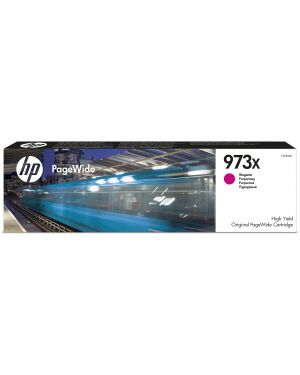 Ink cartridge no 973x magenta HP - OPS SUPP A4 PAGE WIDE INK (K6) F6T82AE 889296544678 F6T82AE