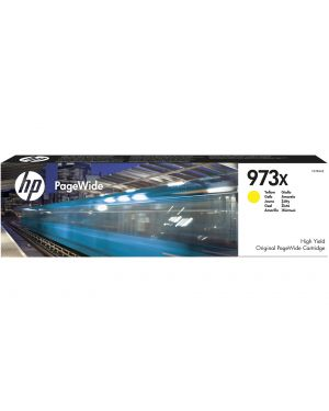 CARTUCCIA GIALLO HP 973X PageWide 477DWT-452DWT F6T83AE